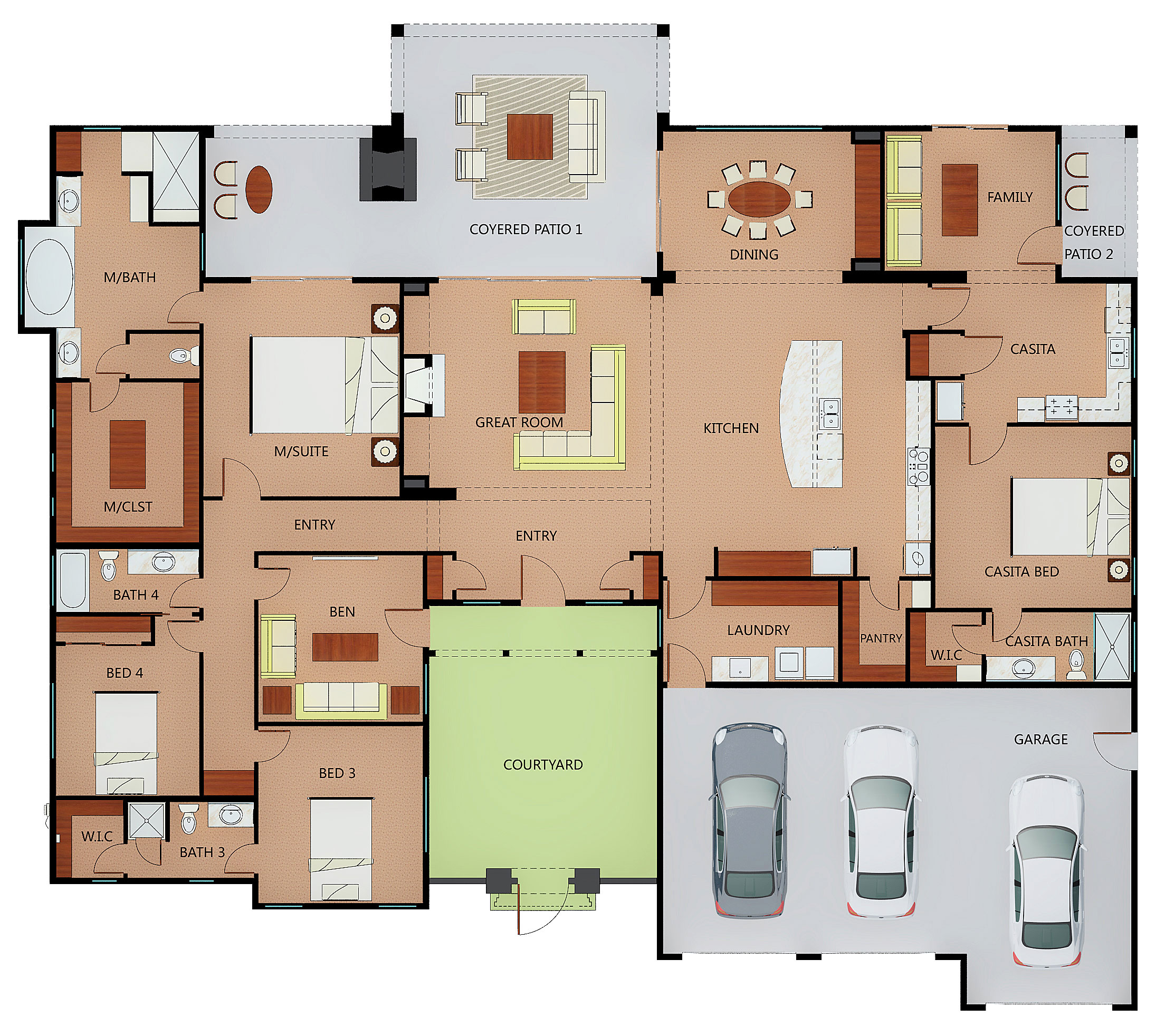 Custom Built Homes Floor Plans - Image Mag