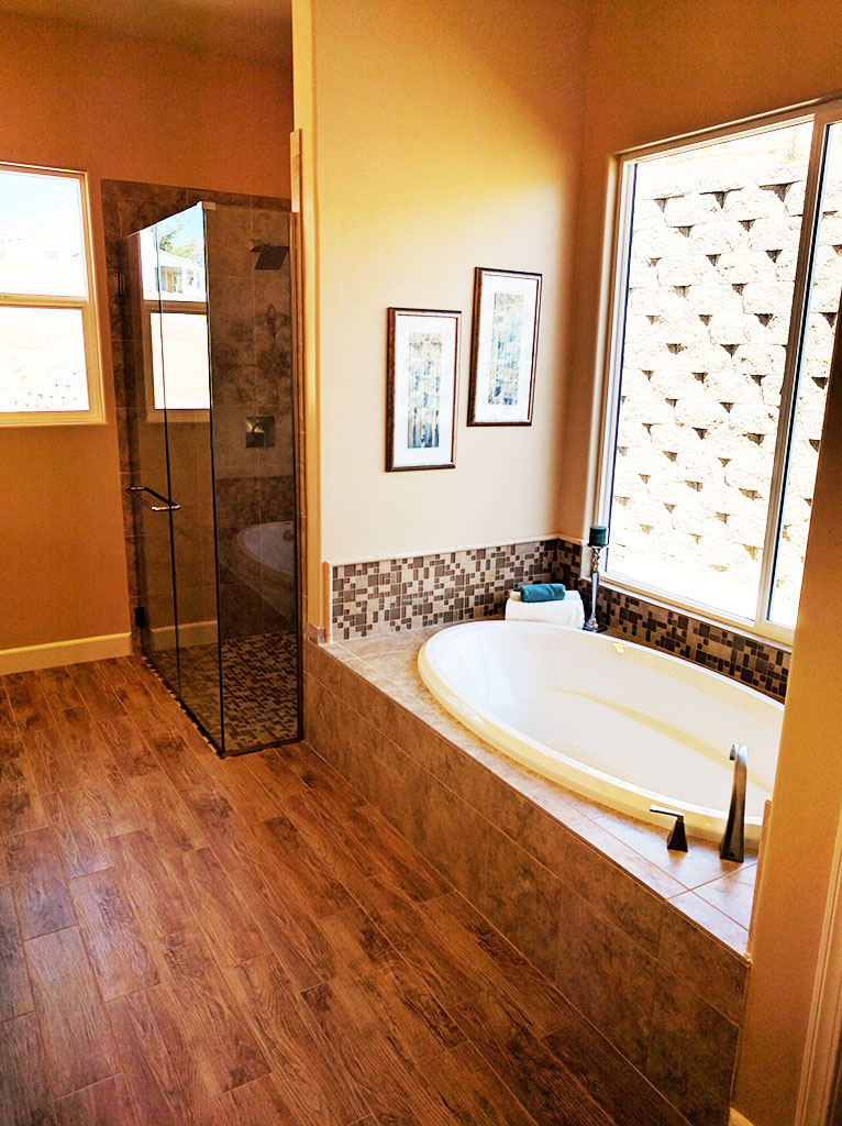 Master bathroom in custom home temecula for Bath remodel temecula