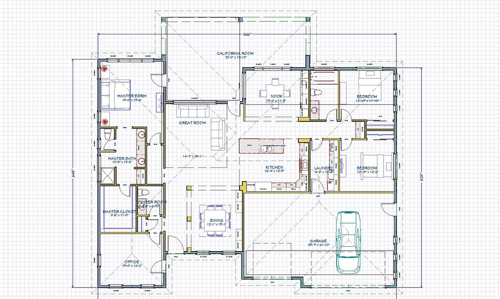 Floor plans custom built homes temecula murrieta for Custom home floor plans